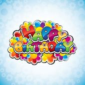 pic of happy birthday card  - Happy birthday - JPG