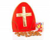 Mitre Of Sinterklaas And Pepernoten