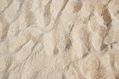 Texture of White Beach Sand