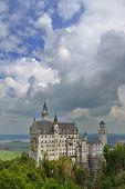 Famous German Castle Neuschwanstein in Bavaria