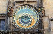 Prague Famous Astronomical Clock, Czech Republic
