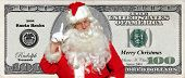 Santa Bucks! Money for christmas from the jolly ol elf himself who could ask for more?