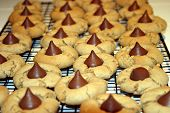 peanut butter kisses (my wifes cookies) tasty!!!!!