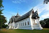 The Buddhist Temple In Thailand