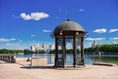 image of ekaterinburg  - Rotunda in the center of Yekaterinburg - JPG