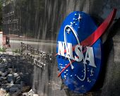 LA CANADA, CA - AUGUST 13: The entrance to NASA's Jet Propulsion Laboratory in La Canada, CA on Augu