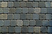 Square Brick Path Horizontal