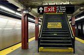 Alerta de aviso do metrô