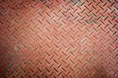 Grunge Diamond Metal Steel Plate Background