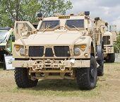 Oshkosh Humvee Front View