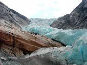 Norway. Glacier Briksdale
