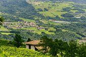 Panoramic View From Stenico (trento)