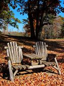 Rustic  Chairs for Resting