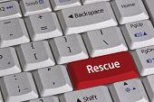 Clave de rescate