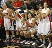 Basketball Ontario Players Bench Cheer
