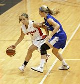 Basketball Dribble Player Woman Ontario