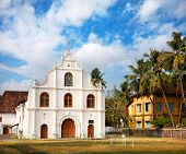 Portuguese Colonial Church In Kochi