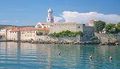Krk Town on Krk Island,Croatia