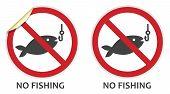 Постер, плакат: Никаких признаков Рыбалка
