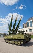 Russian Mobile Surface-to-air Missile System 2K12M1 Kub-m1