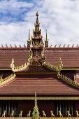 Lanna Ubosoth In Chiangmai