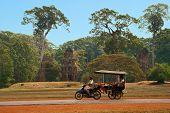 Moto-rickshaw In Cambodia