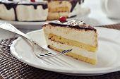 Piece Of Souffle Cake