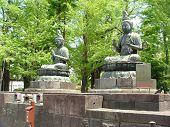 Stone Buddhas In Tokyo Asukusa