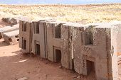 Identical figured blocks of Puma Punku Ruins