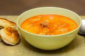 Potato Soup With Sausages