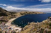 image of pier a lake  - Bolivia  - JPG