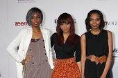 LOS ANGELES - DEC 18:  McClain Sisters at the