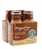 IRVINE, CA - January 11, 2013: A  4 pack of Starbucks Frappuccino Coffee Drink. Seattle based Starbu