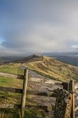 Views From Mam Tor Derbyshire