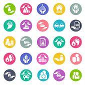 picture of fire insurance  - Insurance icons - JPG