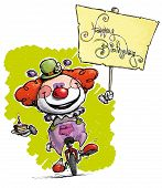 stock photo of clowns  - Cartoon - JPG