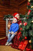 Brother, Sister And Christmas