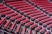 Indoor arena seats