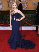 LOS ANGELES - JAN 27:  Amanda Seyfried arrives to the SAG Awards 2013  on January 27, 2013 in Los Angeles, CA
