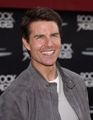 "LOS ANGELES - JUN 08:  TOM CRUISE arrives to the ""Rock of Ages"" World Premiere  on June 08, 2012 in"