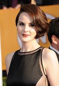 LOS ANGELES - JAN 27:  Michelle Dockery arrives to the SAG Awards 2013  on January 27, 2013 in Los A