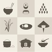 Rice icons