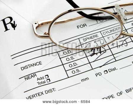 Prescription Eyewear poster