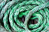 Green Rope Background