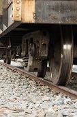 Wheel Of A Train