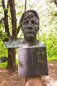 Sculpture Portrait Of The Worker In Kaliningrad, Russia