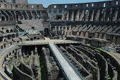 Interior de Colesium de Roma