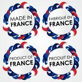 Made in France Badges