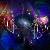 Skeletal Figures in Cosmos