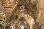 Interiors and details of the Duomo, cathedral of Amalfi, camapnia, Italy